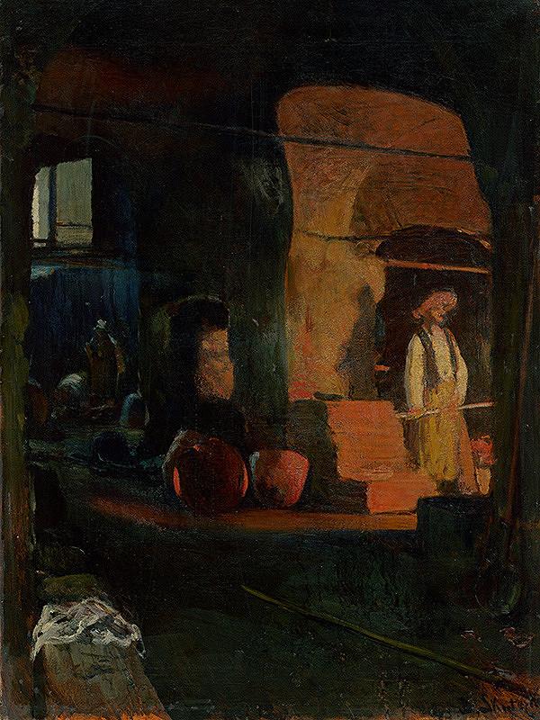 Dominik Skutecký – Pri peci hámru na meď