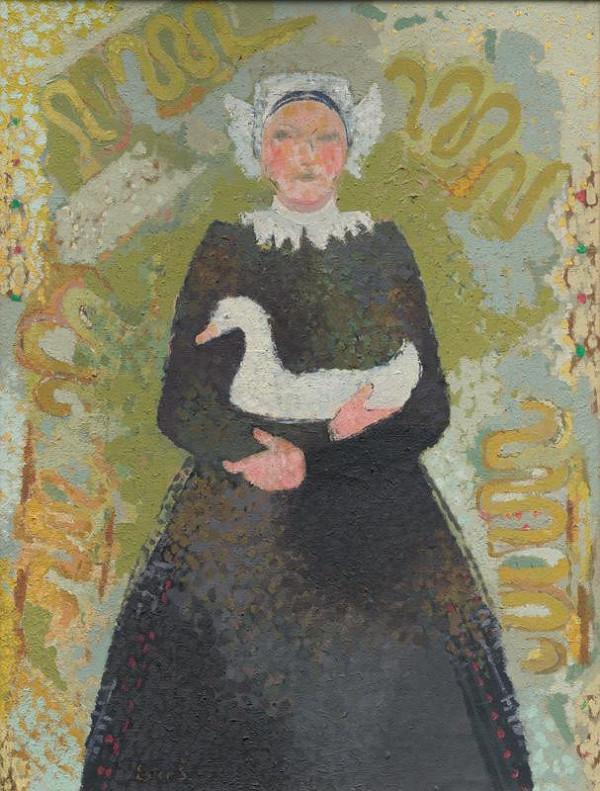 Ester Šimerová-Martinčeková – Žena s kačicou