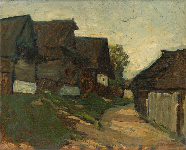Jozef Kollár – Domky v Heľpe