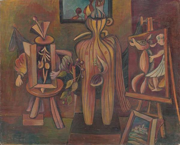 Jakub Bauernfreund – Zátišie s abstraktnými modelmi