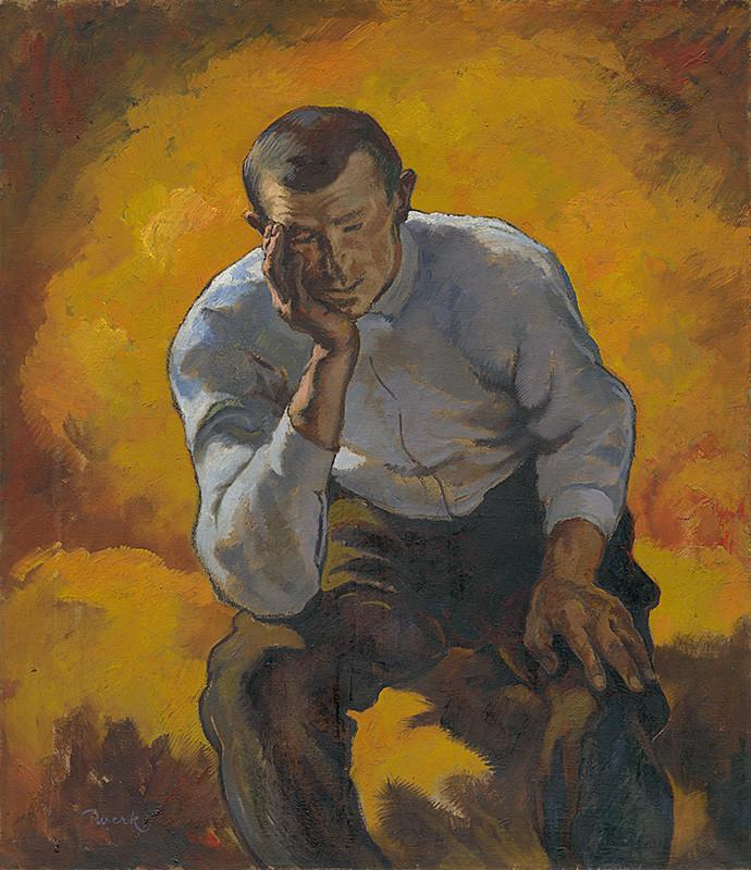 Edmund Gwerk – Starosti, 1928