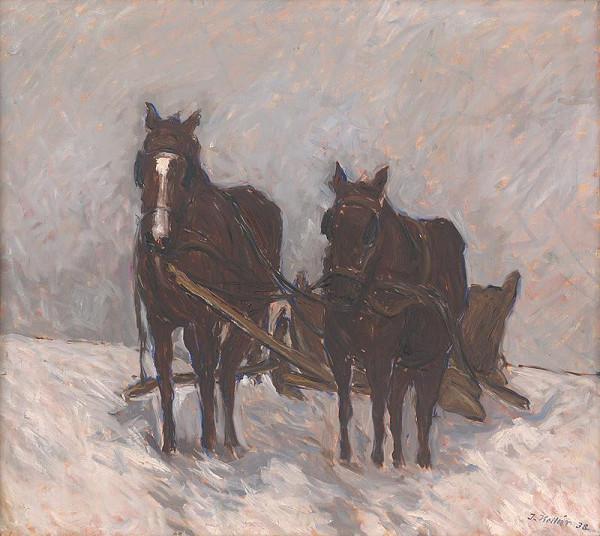 Jozef Kollár – Kone v zime
