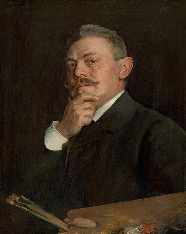 Dominik Skutecký – Autoportrét