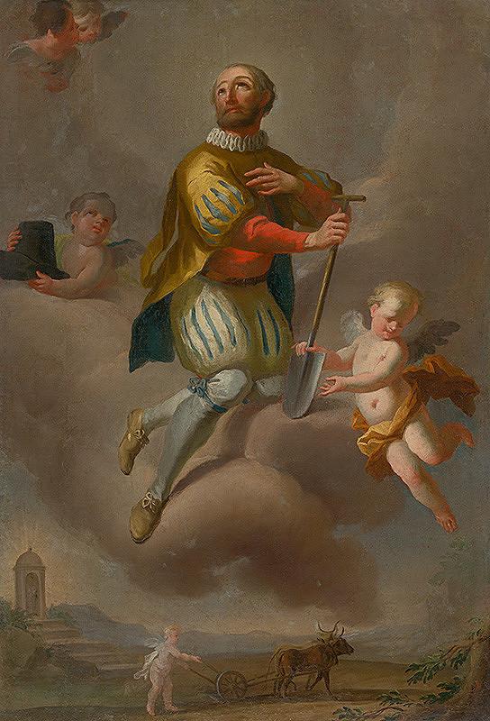 Slovenský maliar z 3. tretiny 18. storočia, Neznámy maliar - Svätý Izidor
