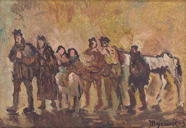 Cyprián Majerník - Utečenci