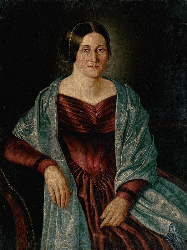 Peter Michal Bohúň - Podobizeň pani Plechovej