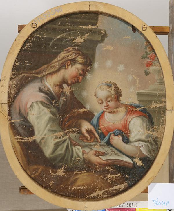 Stredoeurópsky maliar z konca 18. storočia, Neznámy stredoeurópsky maliar - Svätá Anna