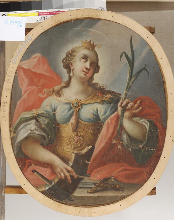 Stredoeurópsky maliar z konca 18. storočia, Neznámy stredoeurópsky maliar – Svätá Katarína