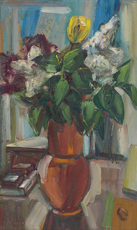František Studený – Orgovány s tulipánom