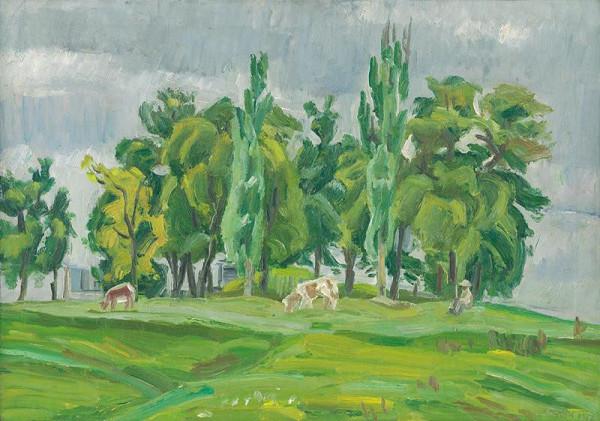 Ernest Zmeták – Jarné stromy