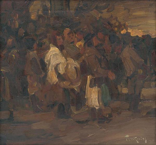 František Gyurkovits – Útek pred požiarom