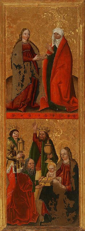 Slovenský maliar dúbravských oltárikov – Navštívenie a Klaňanie troch kráľov