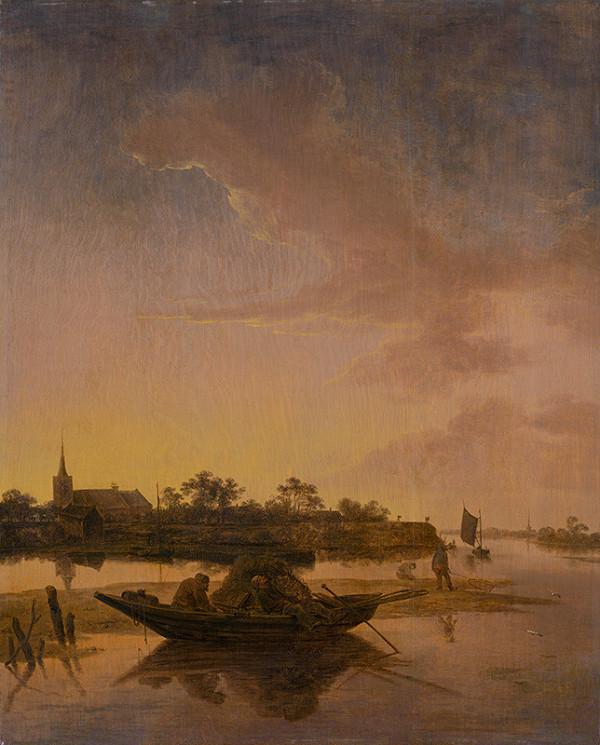 Salomon van Ruysdael – Rybári v morskej zátoke
