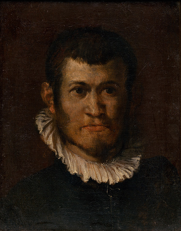 Annibale Carracci – Štúdia hlavy muža