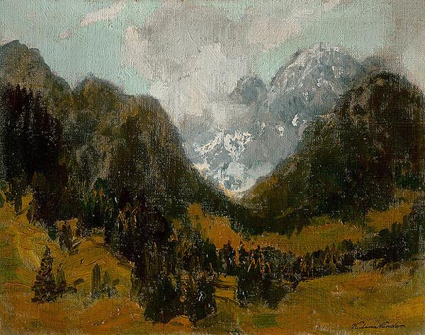 Ferdinand Katona – Tatranský motív