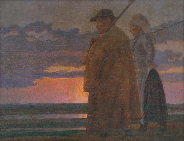Ivan Žabota - Návrat z práce