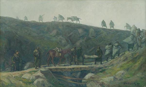 Vladimír Vestenický - Odchod partizánov do hôr