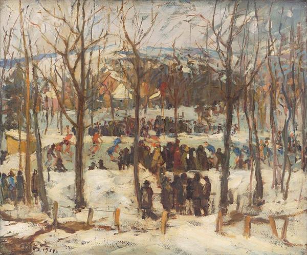 Andrej Doboš – Na hokejovom ihrisku