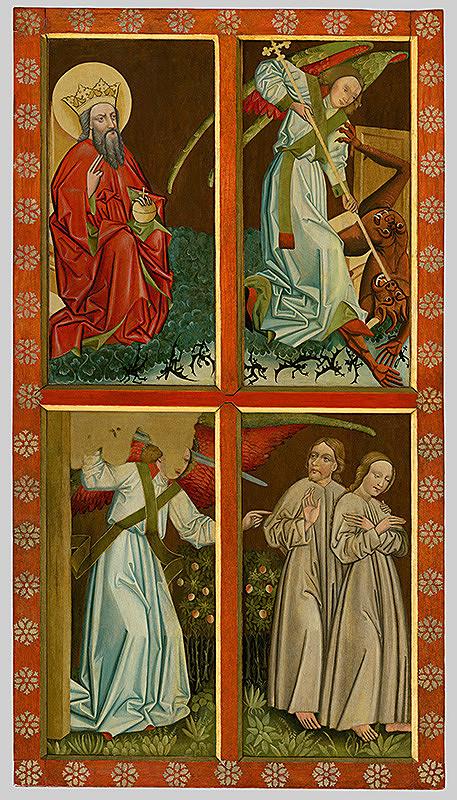 Neznámy maliar – Oltár Bolestnej Panny Márie z Partizánskej Ľupče - ľavé krídlo