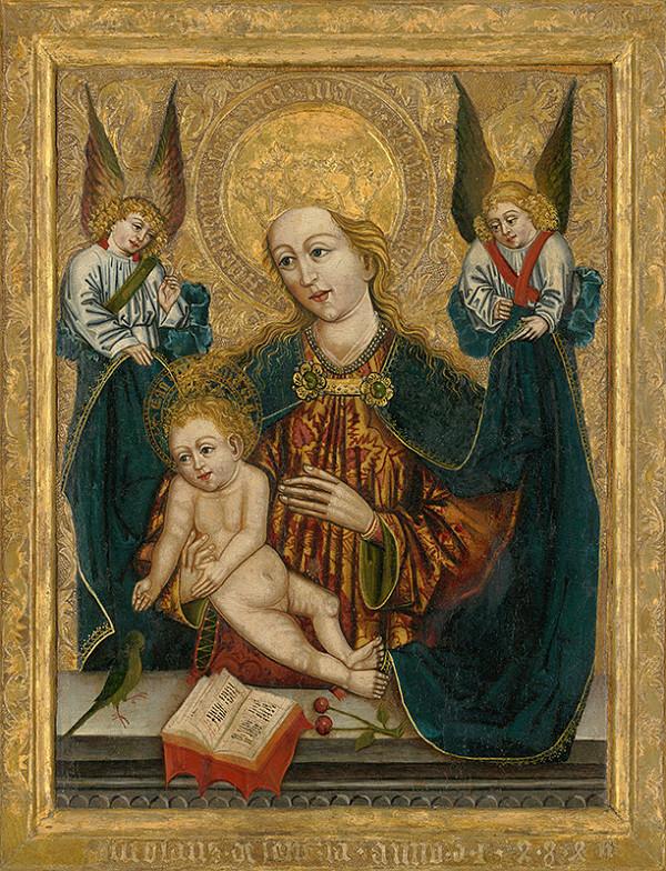 Spišský maliar, Neznámy autor, Majster Mikuláš z Levoče – Madona s anjelmi z Popradu