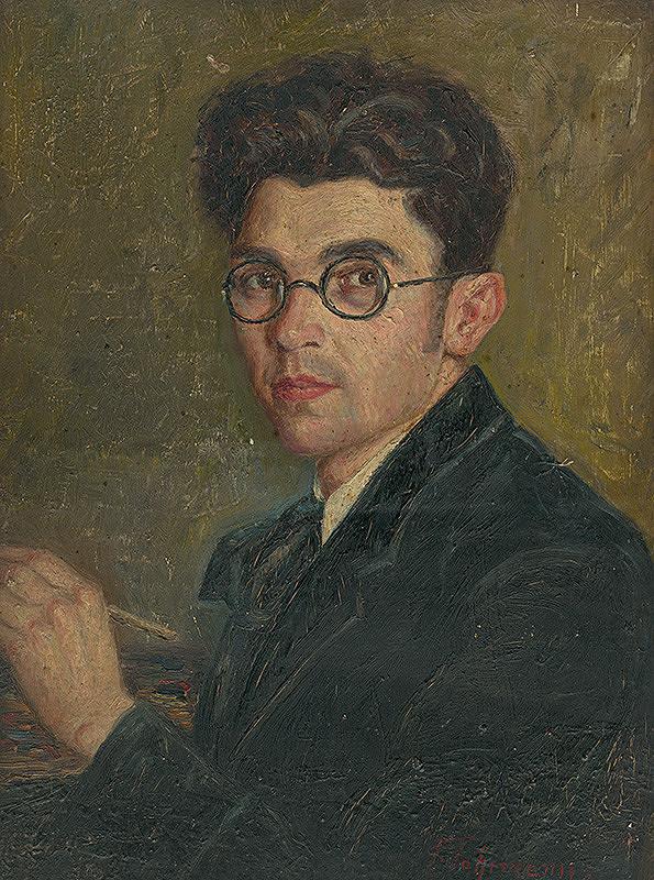František Fahrmann – Autoportrét