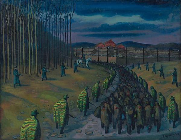 Štefan Bednár – Príchod do koncentráku