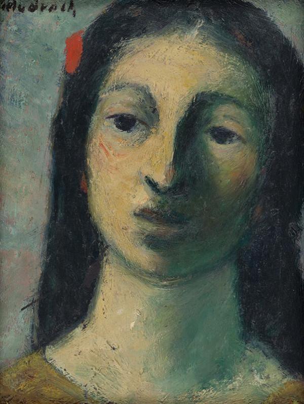Ján Mudroch – Hlava ženy