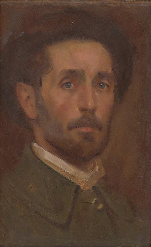 Milan Thomka Mitrovský – Autoportrét