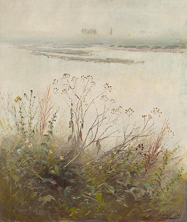 Ladislav Mednyánszky - Zakvitnutý breh rieky