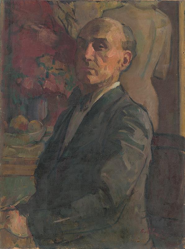 Viktor Belányi – Autoportrét