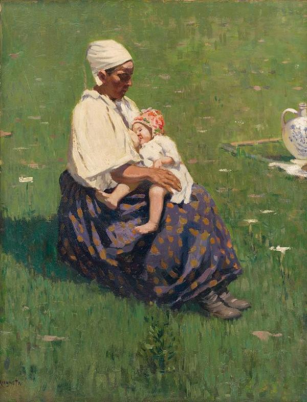Jaroslav Augusta – Dojčiaca matka