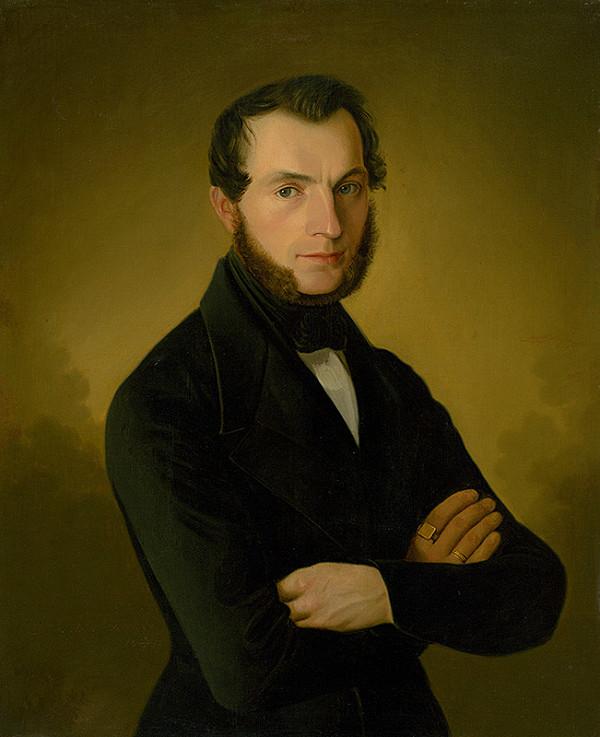 Jozef Božetech Klemens – Portrét poděbradského mešťana A. Juppa