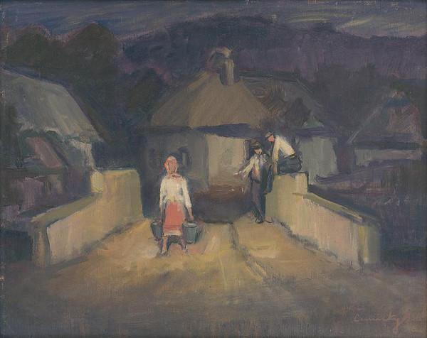 Ladislav Čemický – Večer na dedine
