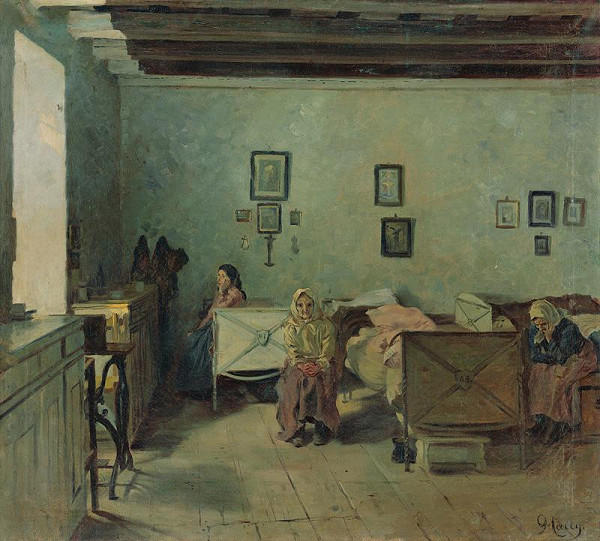 Gustáv Mallý – V pezinskom starobinci