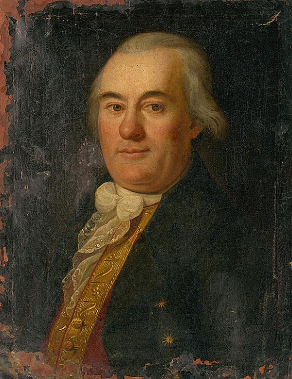 Nemecký maliar z konca 18. storočia – Portrét muža v stredných rokoch