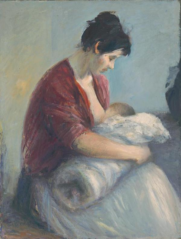 Ján Mudroch – Dojčiaca matka