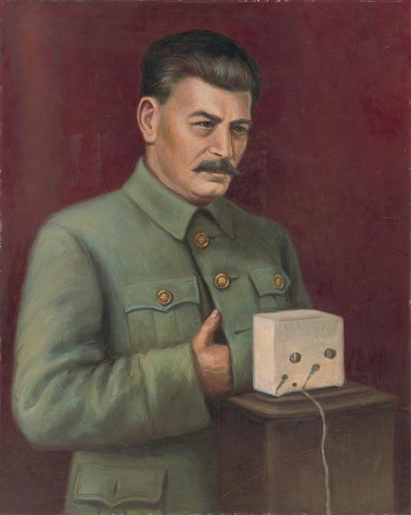 Viliam Ruttkay-Nedecký - Portrét J.V.Stalina