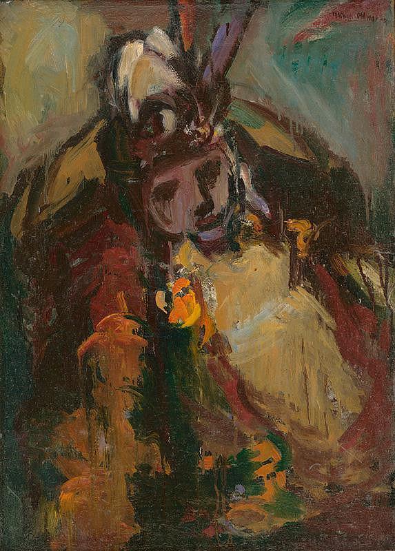 Viliam Chmel - Žena v kresle