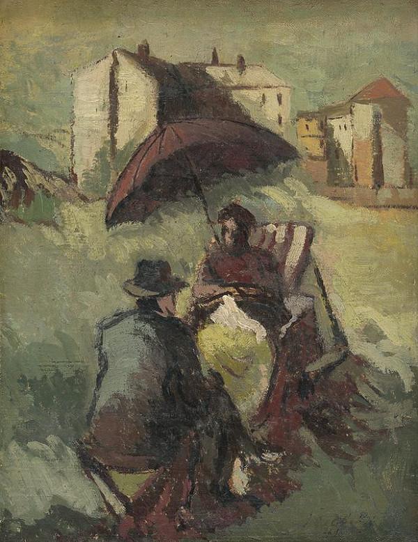 Ján Želibský – Fialový slnečník