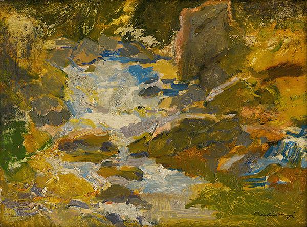 Alexander Kubínyi – Lesný potok