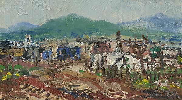 Július Nemčík - Hitlerovci opustili našu dedinu