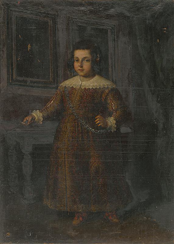 Stredoeurópsky maliar zo 17. storočia – Podobizeň stojaceho dievčatka (kópia), Slovenská národná galéria