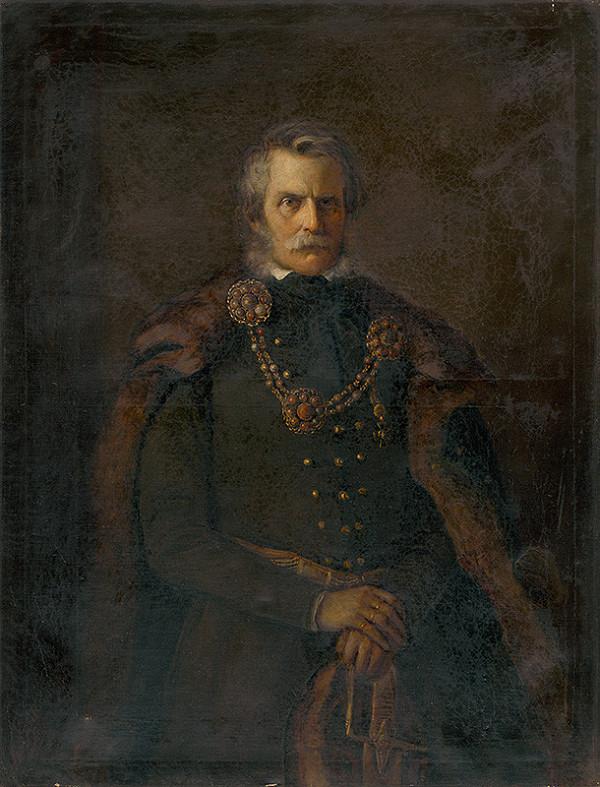 Nemecký maliar z 19. storočia – Podobizeň  grófa Juraja (György) IV. Andrássy