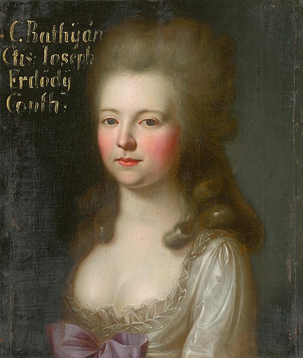 Stredoeurópsky maliar z 2. polovice 18. storočia – Podobizeň grófky Bathyányi