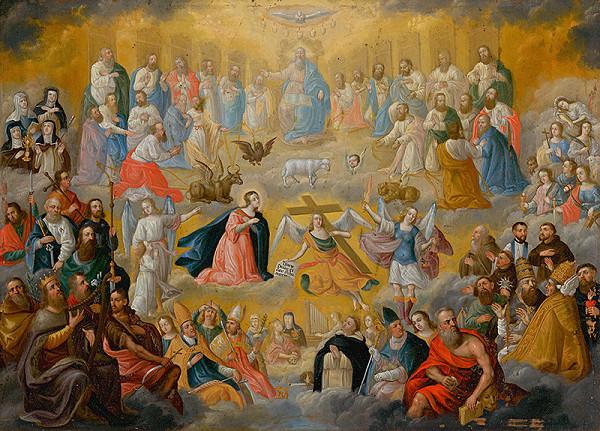 Stredoeurópsky maliar z 19. storočia – Všetci svätí