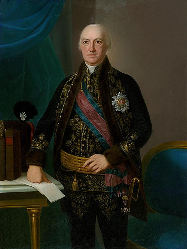 Ján Jakub Stunder – Podobizeň uhorského šľachtica s tereziánskym rádom sv. Štefana