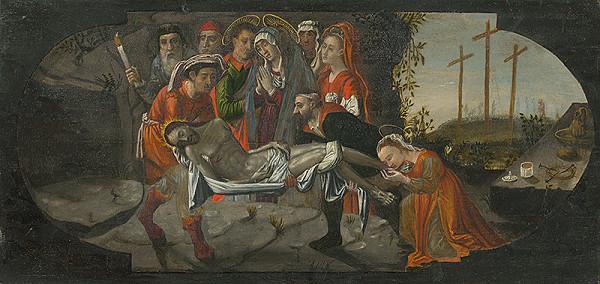 Stredoeurópsky maliar z prelomu 16. - 17. storočia – Kladenie Krista do hrobu