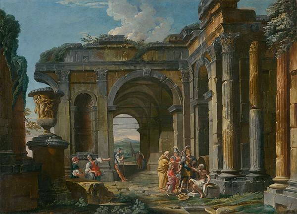 Taliansky maliar z 1. polovice 18. storočia, Giovanni Paolo Pannini – Alexander Veľký a Diogenes
