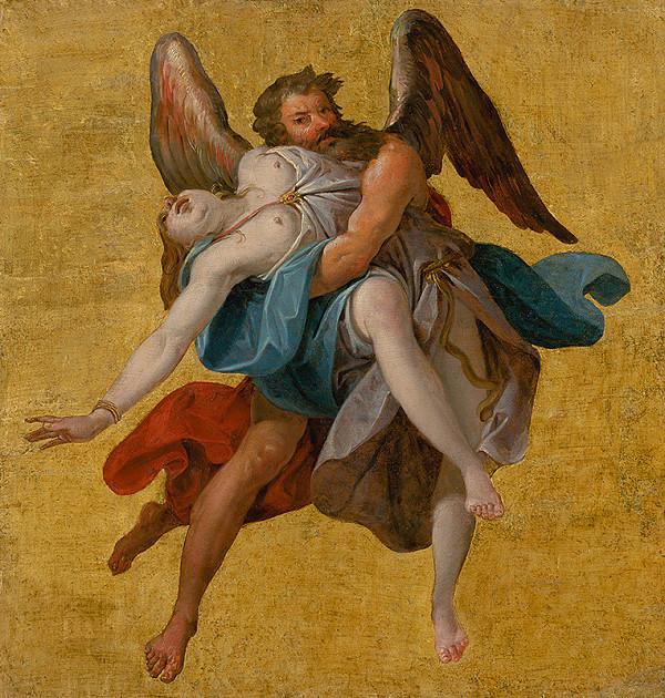 Stredoeurópsky maliar z 2. polovice 19. storočia - Boreas unáša Oreithyiu
