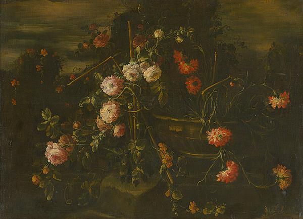 Stredoeurópsky maliar z 1. polovice 18. storočia - Kvety v prírode